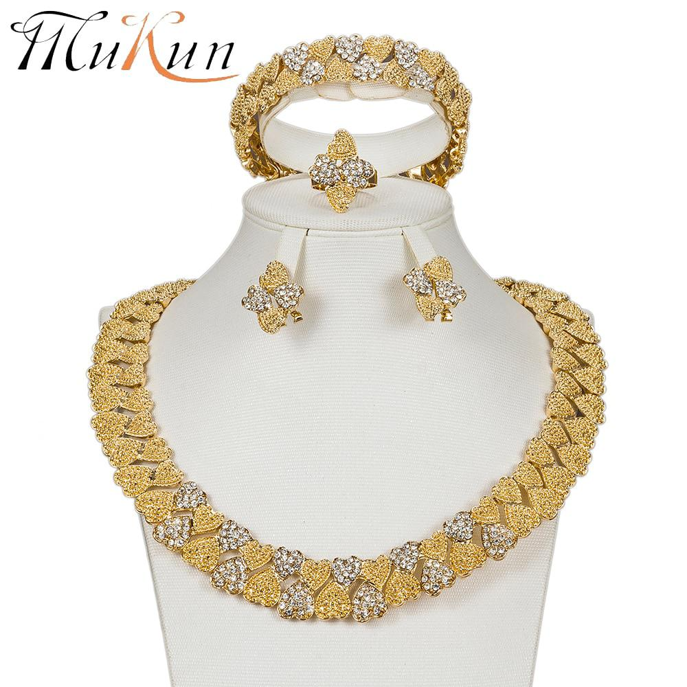 Nigerian Wedding Gifts: MUKUN Bridal Gift Nigerian Wedding Women Dubai Gold