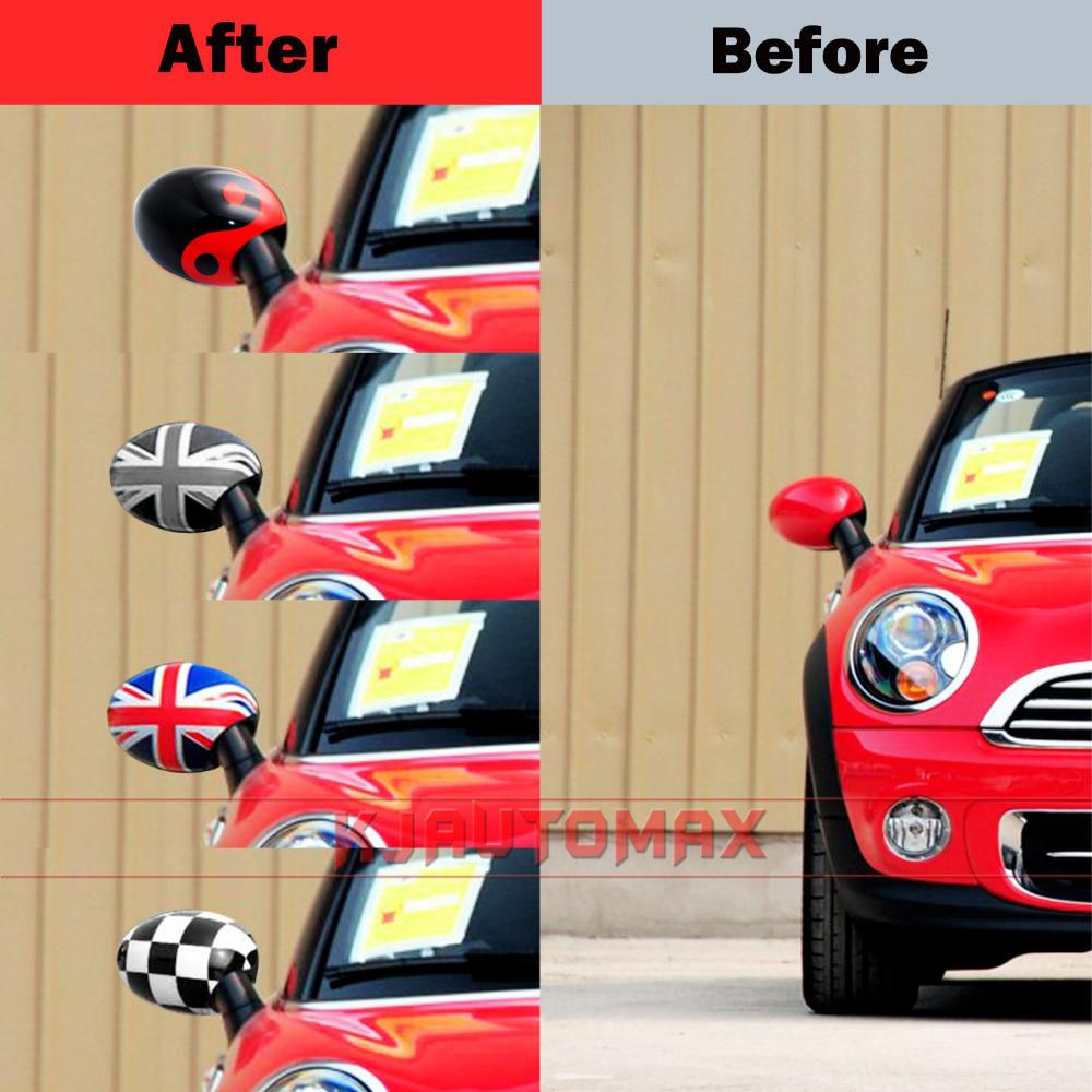 For Mini Cooper Outside Side Wing Mirror Cover Cap Shell R50 R52 - US $27 30