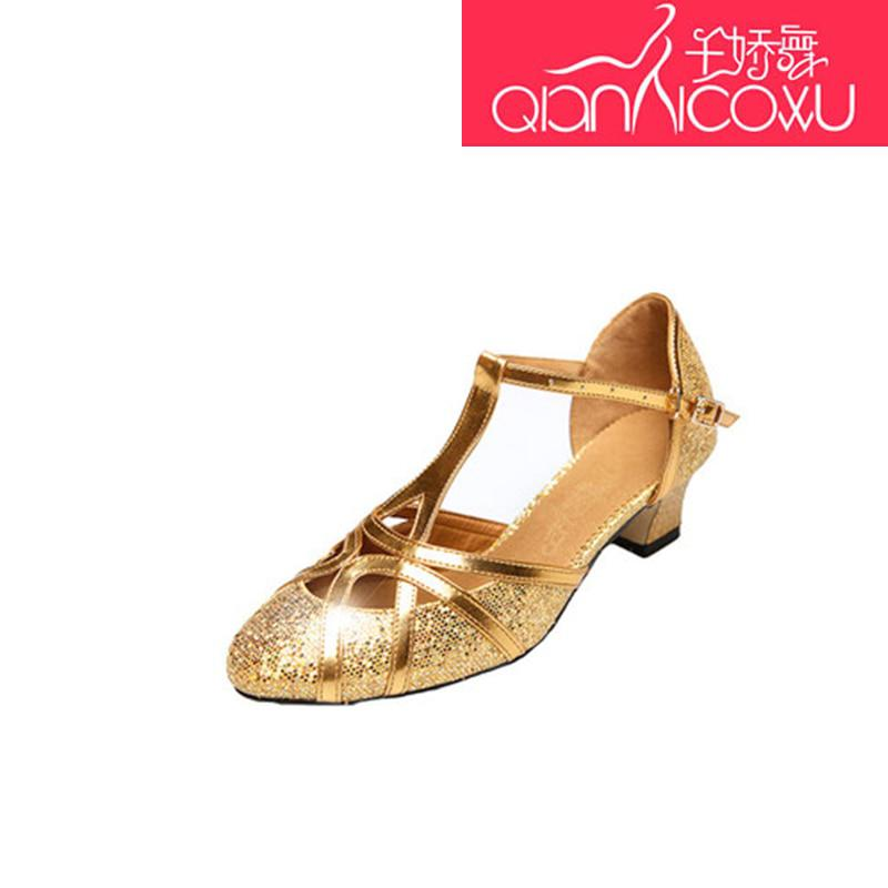 Sequins Multicolored Beautiful PU Gold Glitter Latin Dance Shoes Women Adult  Silver - Pricearchive.org f5d7ba467404