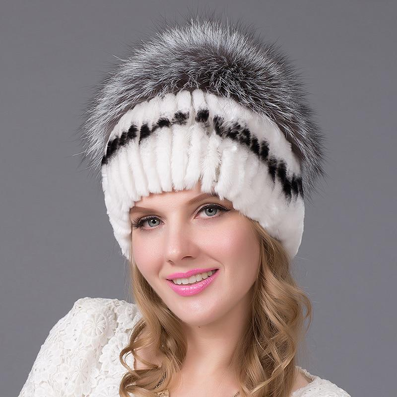 fd6f6af3 hat ladies winter fur women's hats with winter caps women's winter hats  women's high quality fox